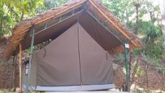 Cottage Tent Out view  » Click to zoom ->