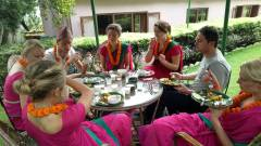 Lunch at Hawan ceremony day  » Click to zoom ->
