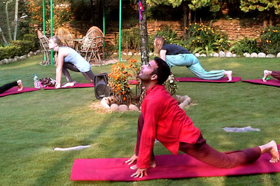 9 Days 8 Nights Yoga Retreat Package